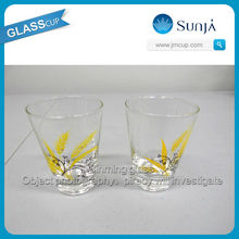 Daily need product drinking glass cups pony shot glass non alcoholic malt beverage mini wine shot cup pony shot glass