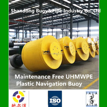 Collision Resistant Plastic marine buoy for IALA Guideline