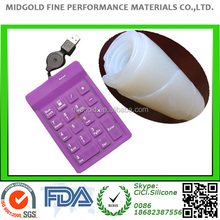 Electronic silicon rubber buttons making silicon rubber raw material
