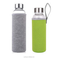 glass bottles wholesale with protective bag