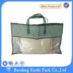 Hot new peoduct plastic pillow bag with zipper