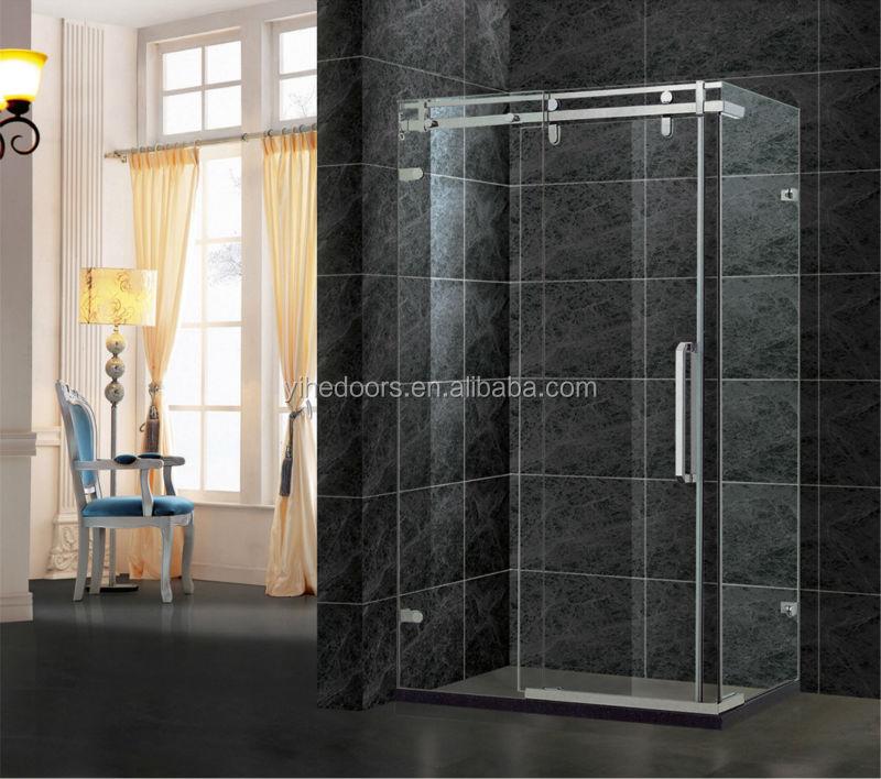 Top sale frameless sliding door for shower room complete for Shower doors for sale