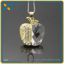 2015 usb flash drive wholesale jewelry diamond usb flash drive