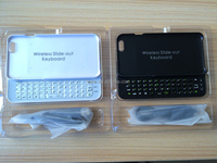 """Alibaba hot sell slide wireless bluetooth keyboard case for iPhone 4.7"""""""