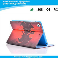 Spiderman Pattern Leather Case for iPad 2/3/4 with Credit Card Slots & Holder