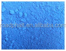 Iron Oxide Beautiful Blue pigment colored asphalt