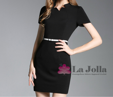 Custom Order!!! Ladies Office Uniform Designs Short Dresses Women Office Uniform Dresses