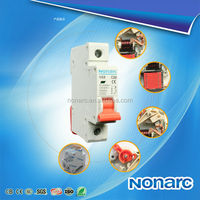 NB8 2013 New MCB Mini Circuit Breaker With double busbar And light indicating