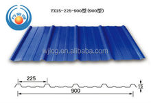 hot sale!! high quality and low cost corrugated galvanized and coated color steel sheet