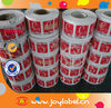 Best price customized print logo vinyl sticker roll