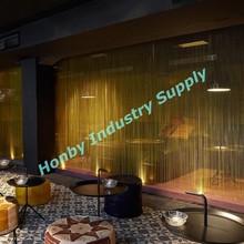 elegante interior personalizado cortinas sala de partición
