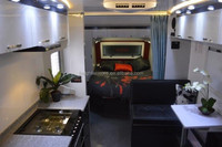 HOT!!!2015 custom-made sandwich board caravan/travel trailer