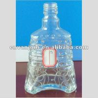 225ML Glass Vodka bottle