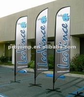 2012 outdoor advertising feather flags