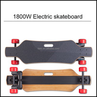 New design remote control boosted dual 2000w electric skateboard