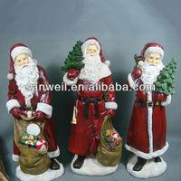 Christmas crafts santa claus decoration