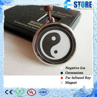 High Negative Ions Yin Yang Scalar Energy Quantum Pendant