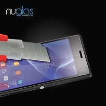 Paypal Accept Factory Price Nuglas Top Quality Tempered Glass Screen Protector for Sony Z2