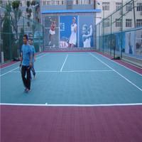 plastic outdoor basketball court floor tile coating