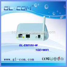 GL-COM XDK New Model 1GE+WIFI GEPON EPON ONU Optical Line Network FTTH CPE