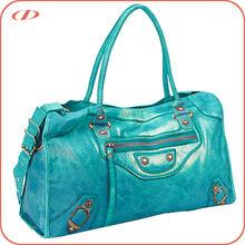 Fashion branded style summer canvas handbag