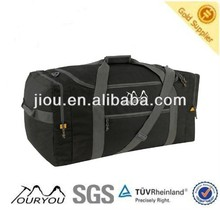 Black color 600D polyester Football Shoe / Boot Bag for travel