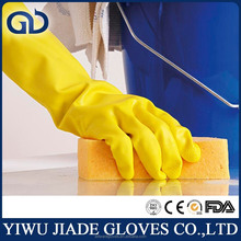 Colorful rubber glove house cleaning gloves with high quality