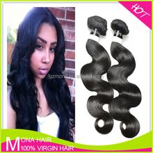 7A Grade Virgin Indian Hair No Split End No Bad Smell