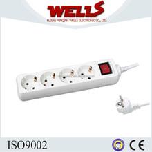 European 3 outlet strip power,power strip