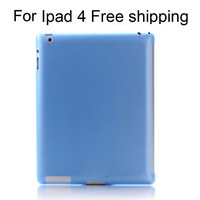 Free Shipping Smart Protective promotion back cover case for tablet for ipad 4