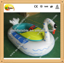 Hot-Selling swan battery operated bumper boat