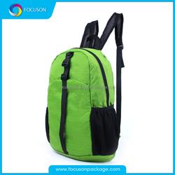 Foldable waterproof backpack hiking bag