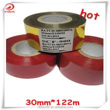 Yida pvc marcação fita jumbo rolo folha de carimbo quente FC3 30 mm * 122 m folha de codificação quente