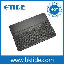 Gtide KB651 black color aluminum bluetooth 3.0 keyboard for ipad air tablet bluetooth keyboard