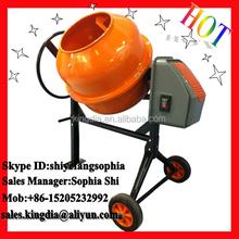 140L small electric used portable concrete mortar mixer for sale
