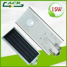 arm pole mounted solar led street light 15W