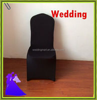 2015 hot sale !!! 100PCS black Stretch Lycra Spandex Chair Cover For Wedding FREE SHIPPING