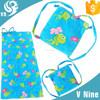 2015 100% cotton velour reactive printing beach towel bag