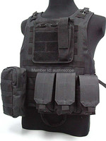 Защитный жилет N Airsoft Molle BK sports vest