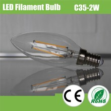 New Year decoration led candle bulb light with low cost