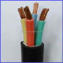 Rubber insulated flexible rubber power cable