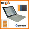 Ultra-thin PU leather Bluetooth Keyboard case for iPad wireless bluetooth flexible keyboard