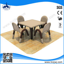 EU standard Preschool Used kids plastic table and chair