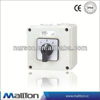 CE certificate weatherproof switch isolator