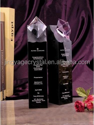 Mosaic Peak Crystal Award