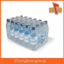 High shrinkage transparent PE packaging film for water bottles with free design