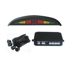 color led display parking sensors for cars universal for all car english speech alarm easy install