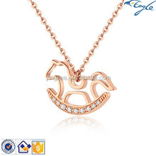 Trojan rose gold necklace, jewelry