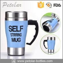350ml Stainless Steel Portable Self Stirring Coffee Mug/Cup Fashion Cup