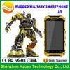 Durable smartphone IP68 waterprof Android 4.2.2 Quad Core 1.2GHz Processor 3G Compass GPS Walkie Talkie unlocked Verizon phone
